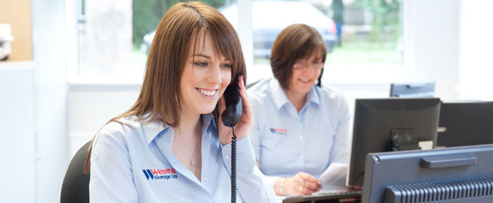 The helpful and friendly office staff at Westhill Garage can provide you with a quote